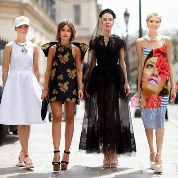 Russian women style