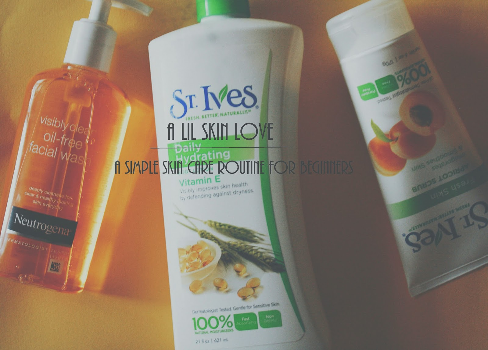 my super simple skincare routine for beginners