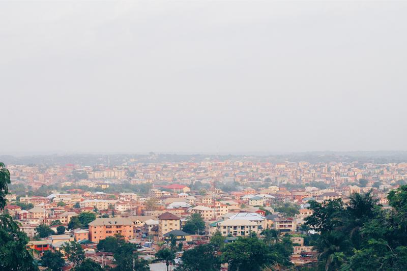 landscape picture of Enugu state in Nigeria