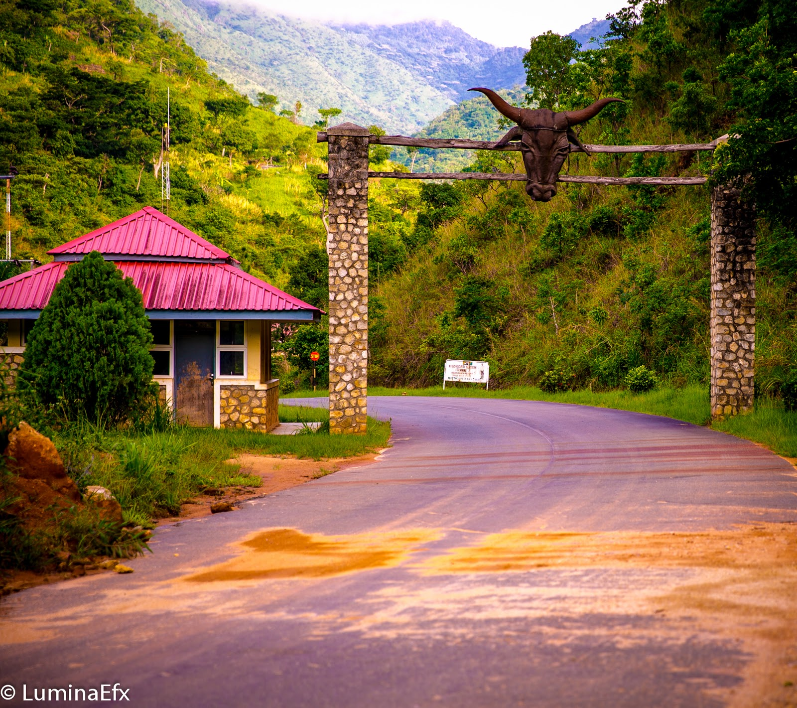 places to visit in Nigeria, Obudu mountain reserve entrance