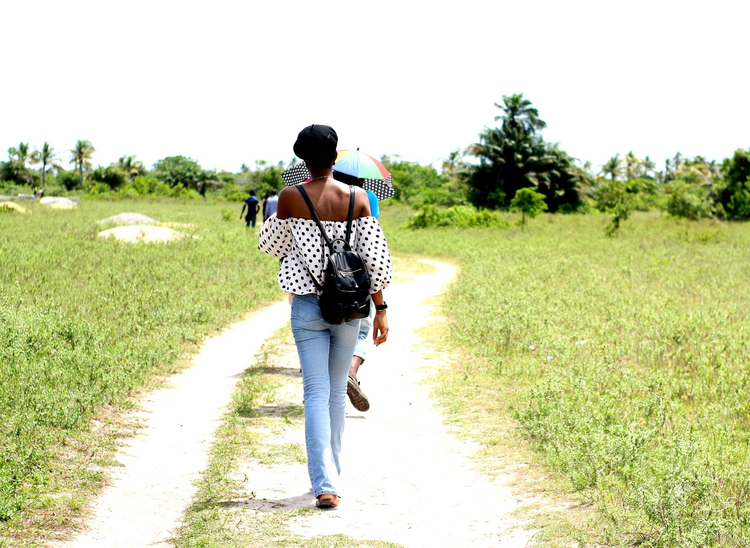 nigerian fashion blogger cassie daves walking the slave trade route in badagry