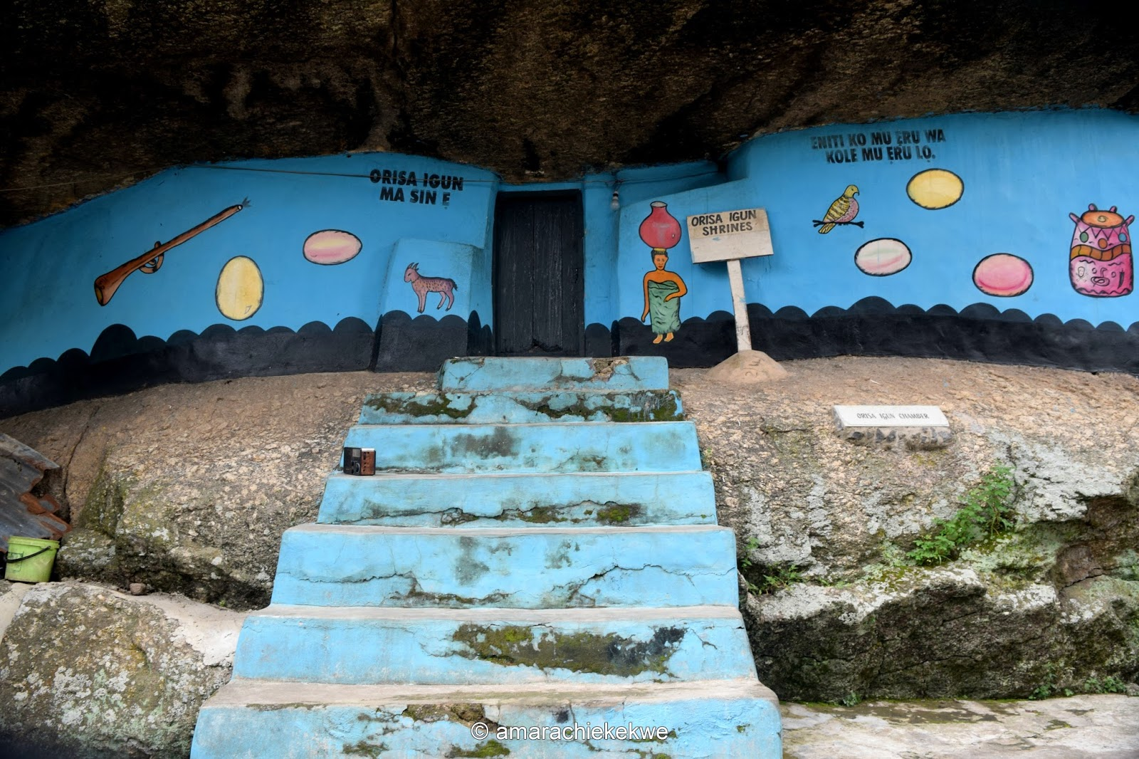 Places to visit in Nigeria - Olumo rock in Abeokuta