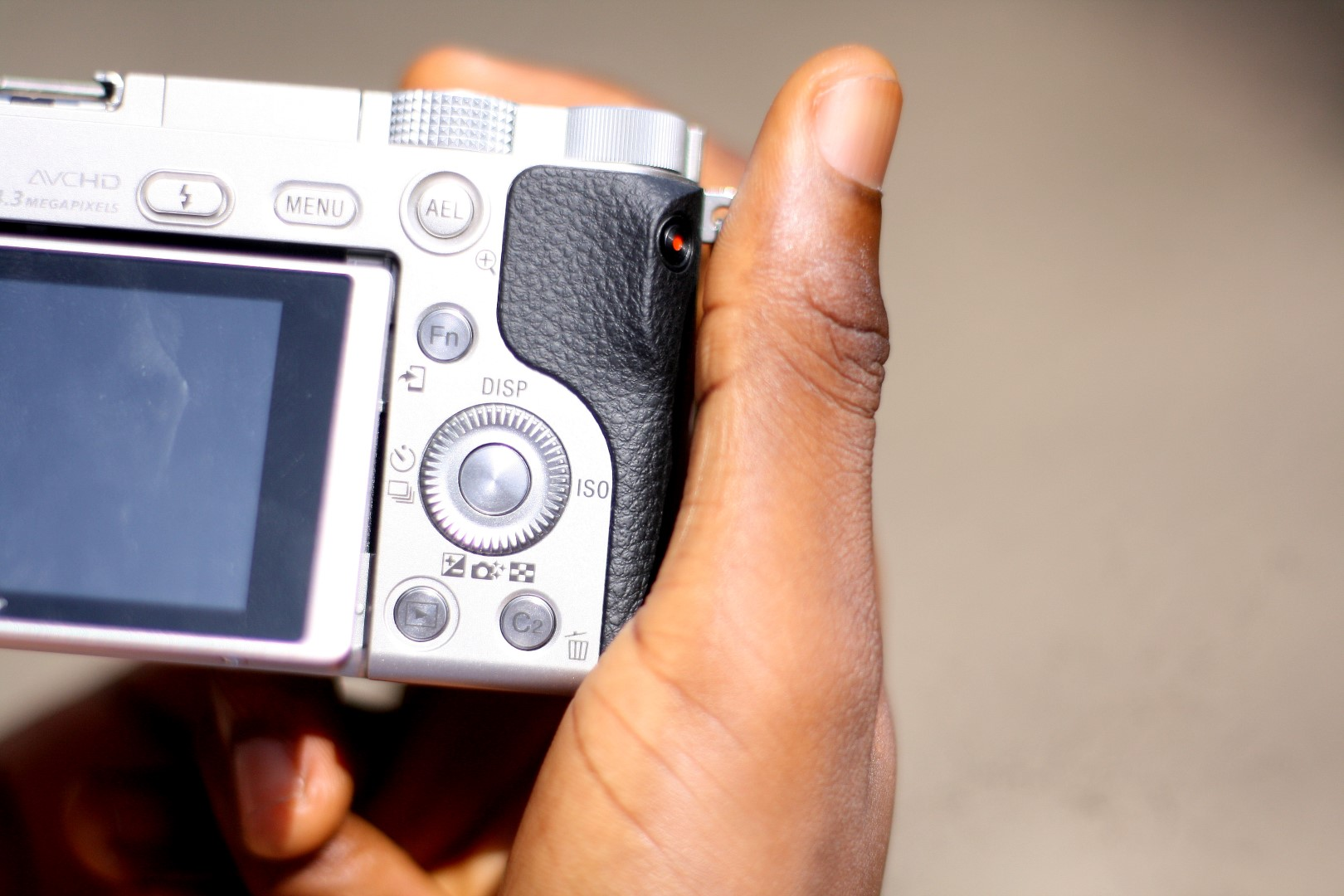 Sony A6000 front view