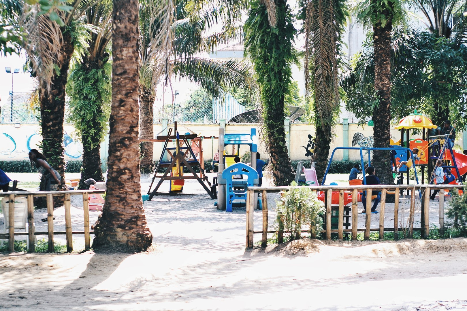 Children's area to play at the lufasi nature park, lekki
