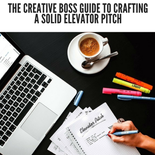 How to craft a perfect elevator pitch pinterest image