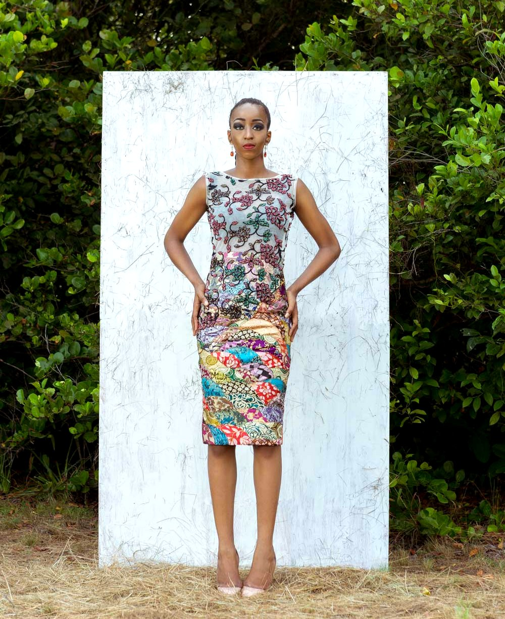 Nigerian model and blogger Cassie Daves for Moofa designs