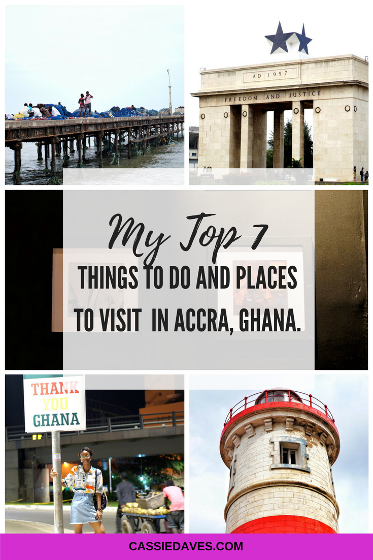 Pinterest image for things to do in Accra