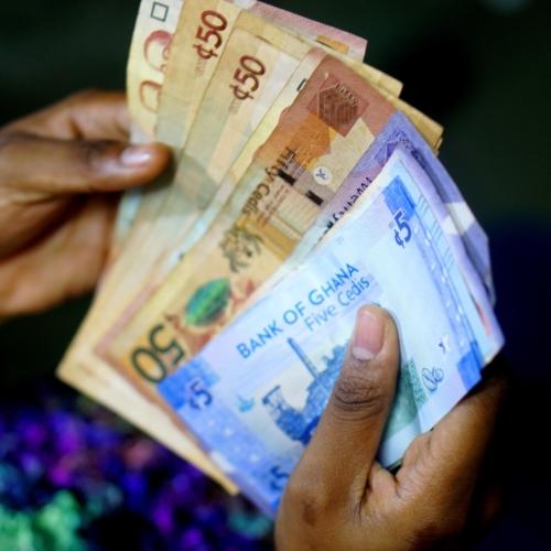 Ghana cedis notes