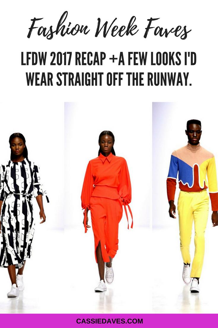 Pinterest graphic for Lagos fashion and design week LFDW 2017 faves plus recap