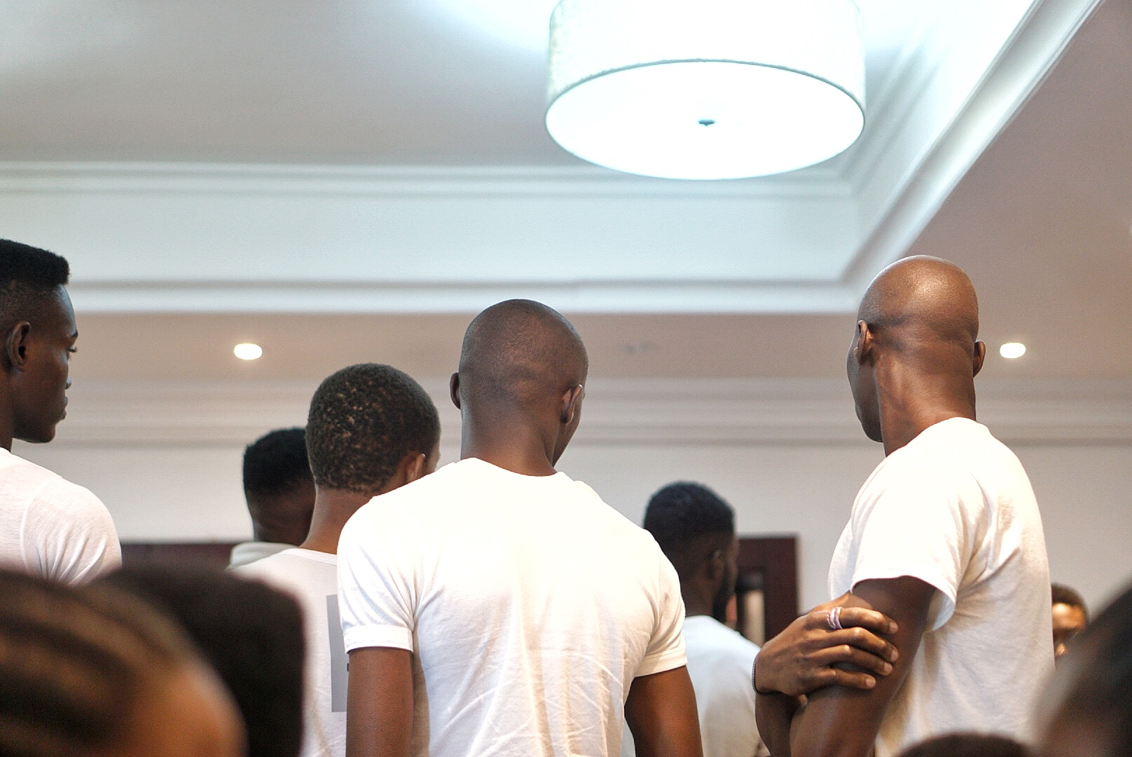 Male models at gtbank fashion weekend casting 2017