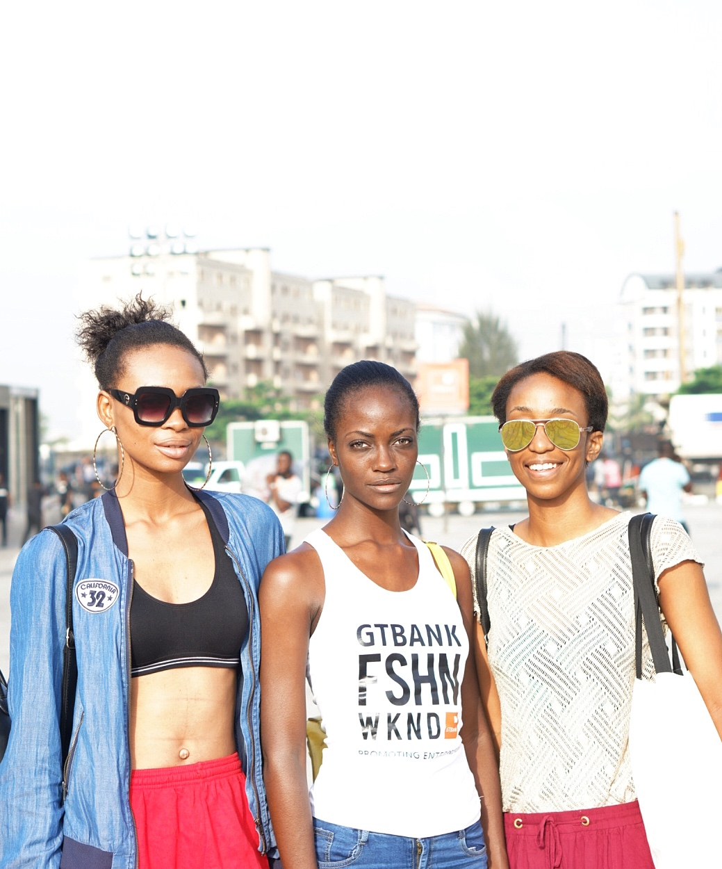 Nigerian Models Cassie Daves, Tracy Braimah and Claudia at Gtbank fashion weekend 2017