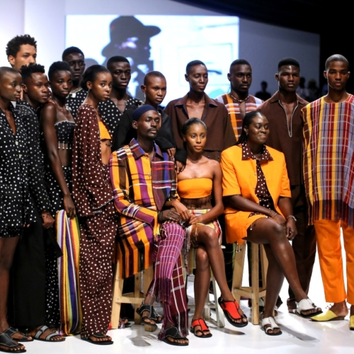 Lagos fashion week LFDW 2017