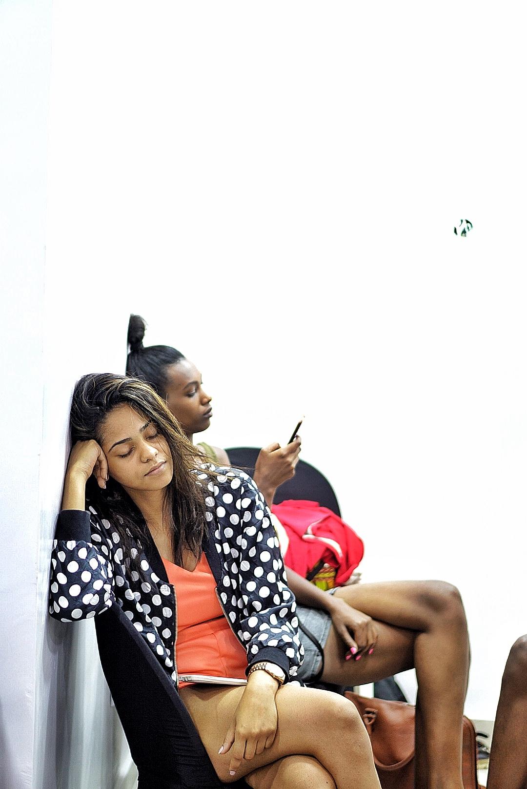 Tanzanian model Jihan at gtbank fashion wrrkend