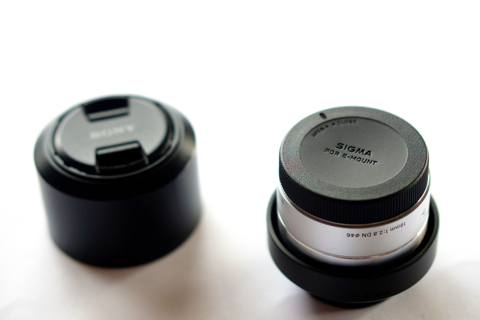 Sigma 19mm lens for sony A6000