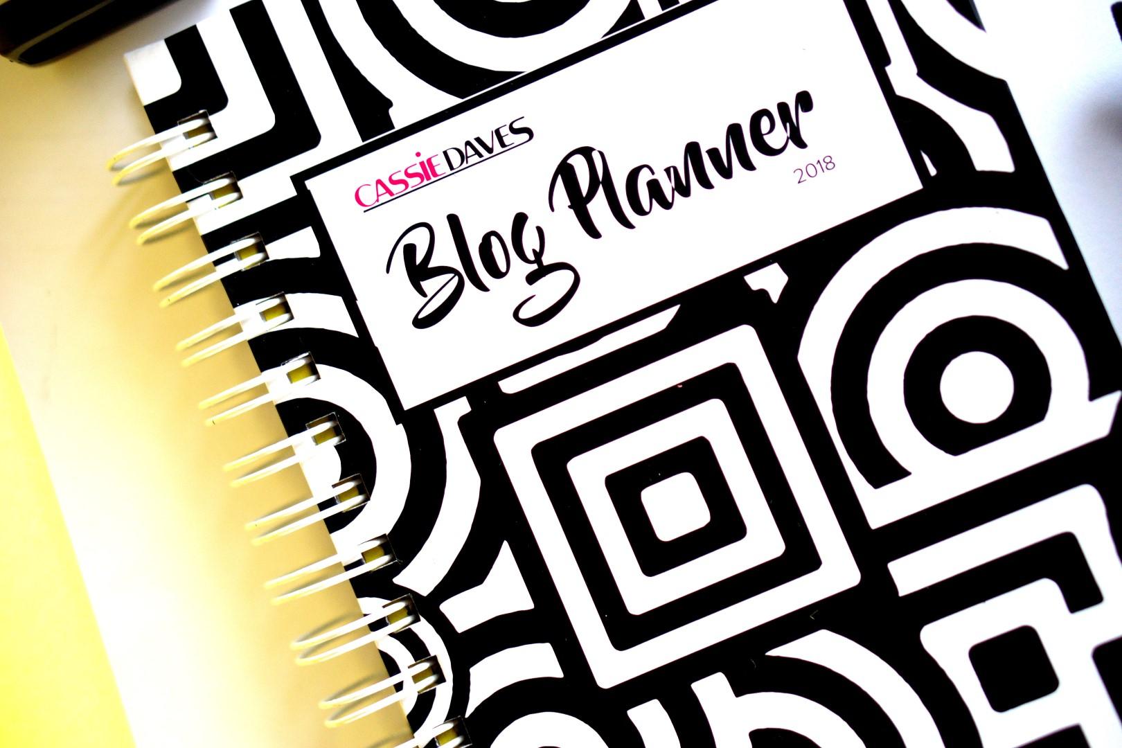 2018 cassie daves blog planner