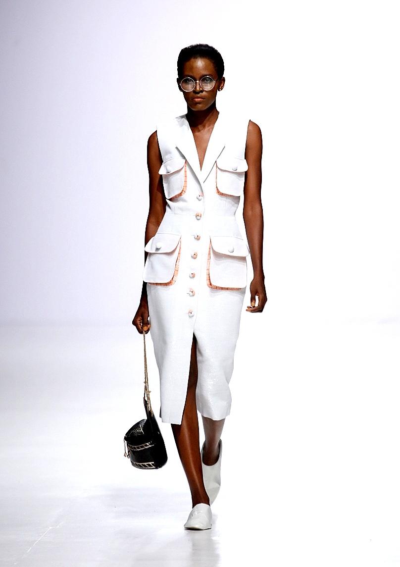 Elie Kuame for Lagos fashion and design qeek - LFDW 2017