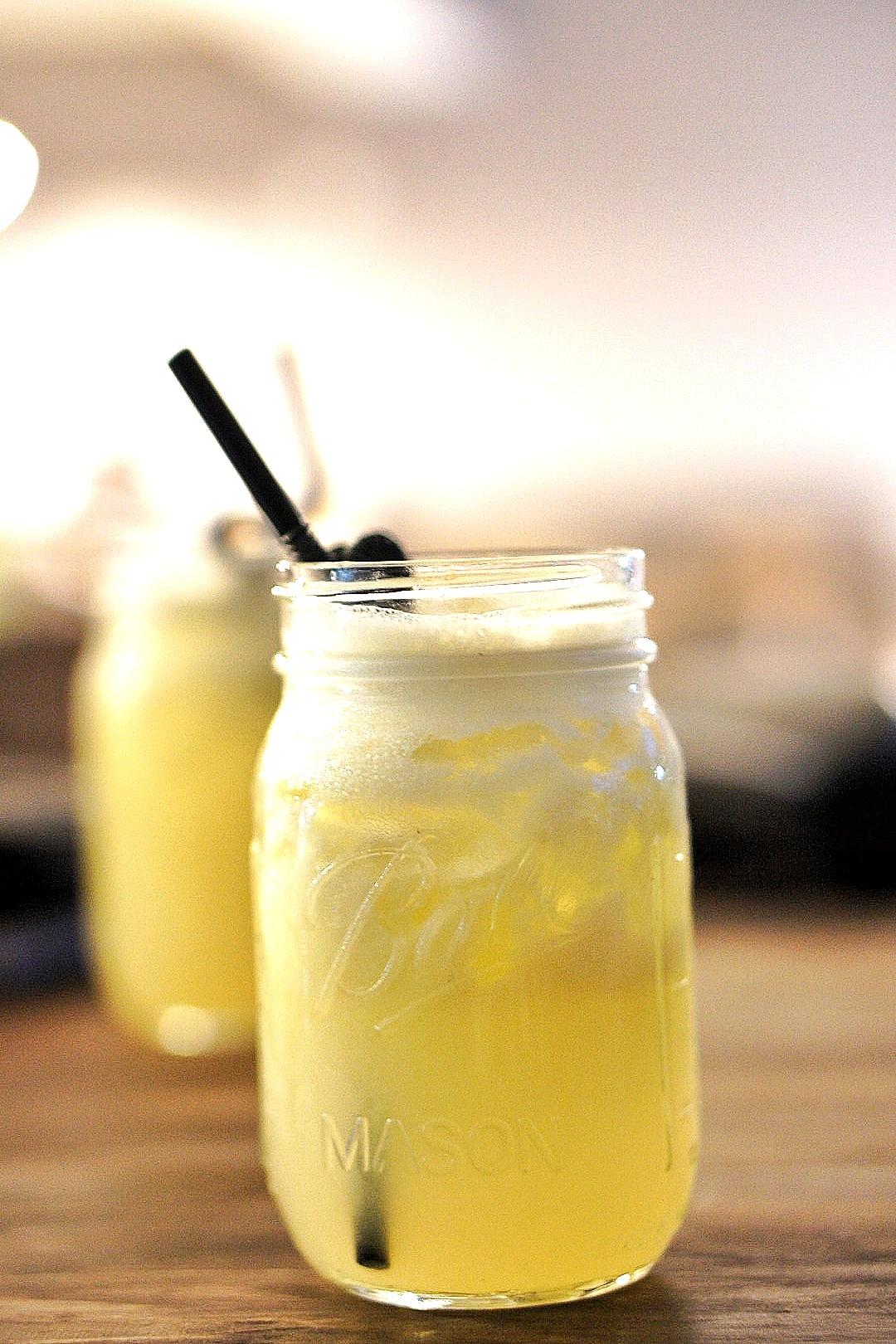 Pineapple juice at food shack lagos