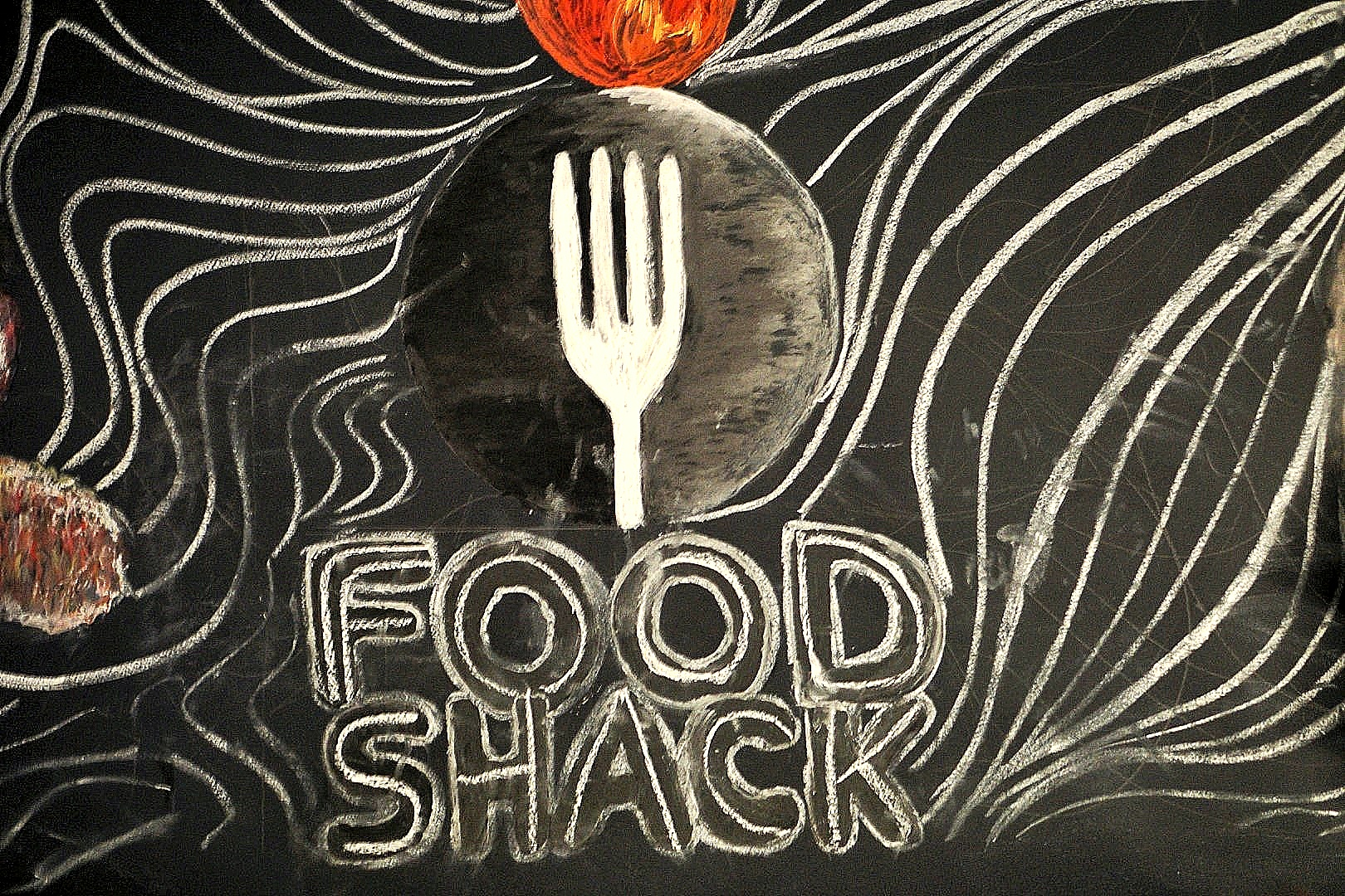Food shack Lagos, victoria island decor