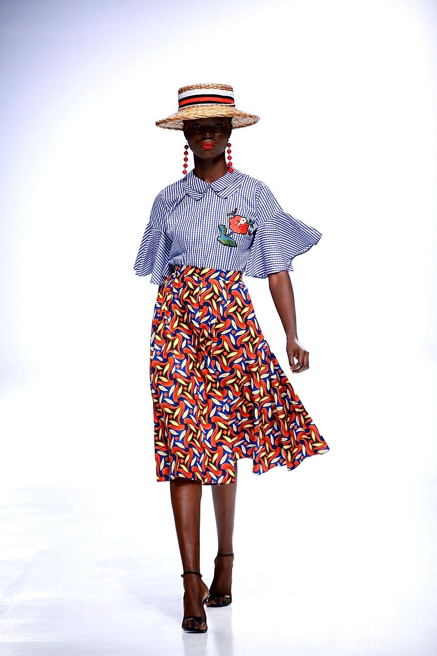 Omilua for Lagos fashion and design week - LFDW 2017