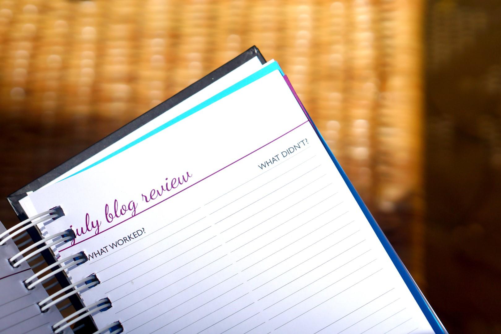 2018 cassie daves blog planner content