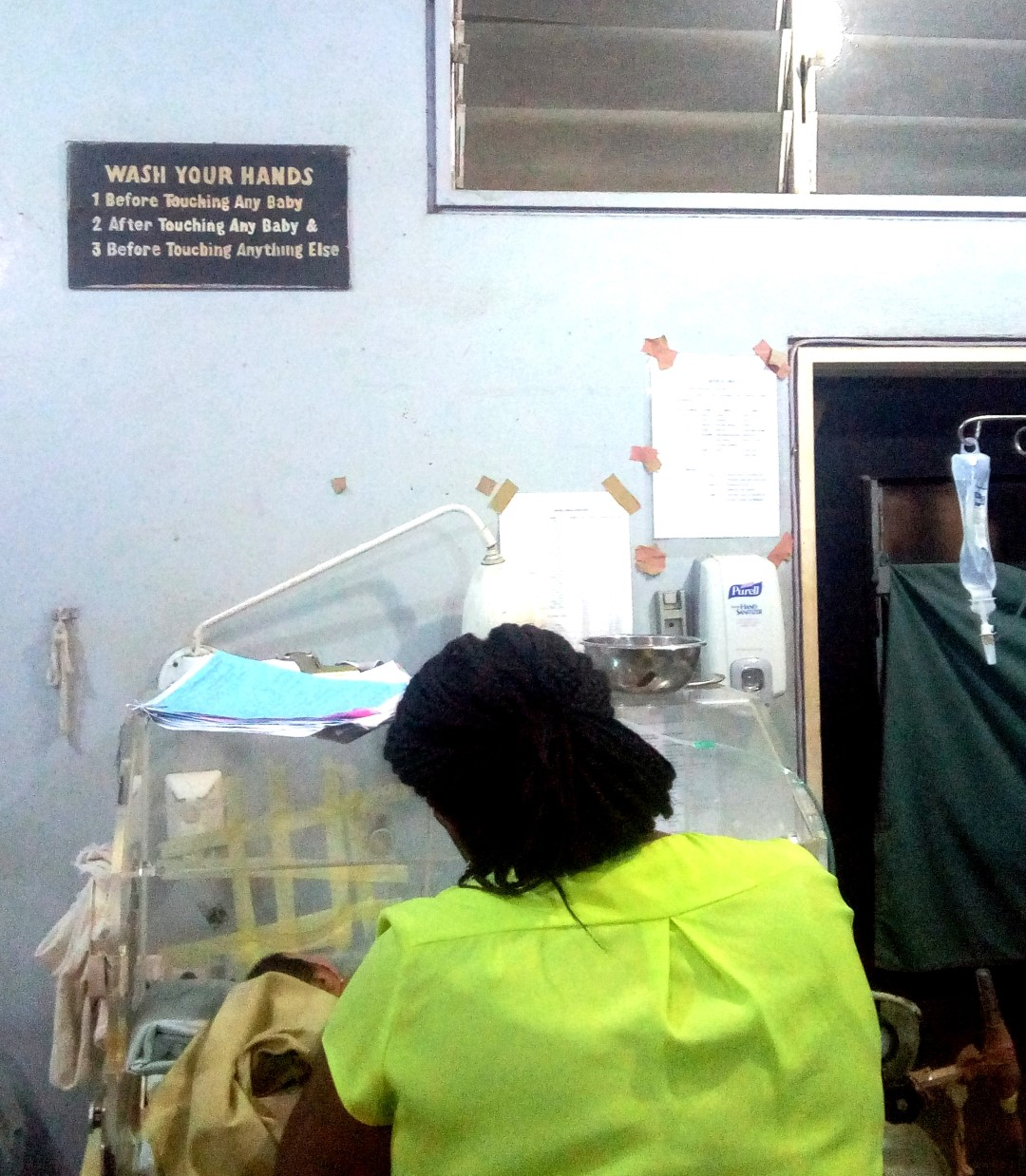 Medical doctor at the neonatal unit in LUTH