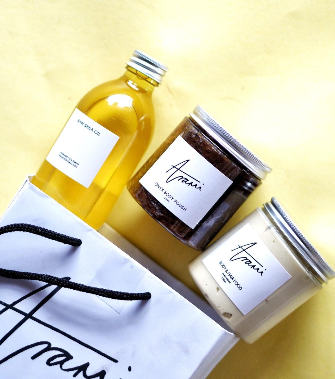 Arami essentials product range