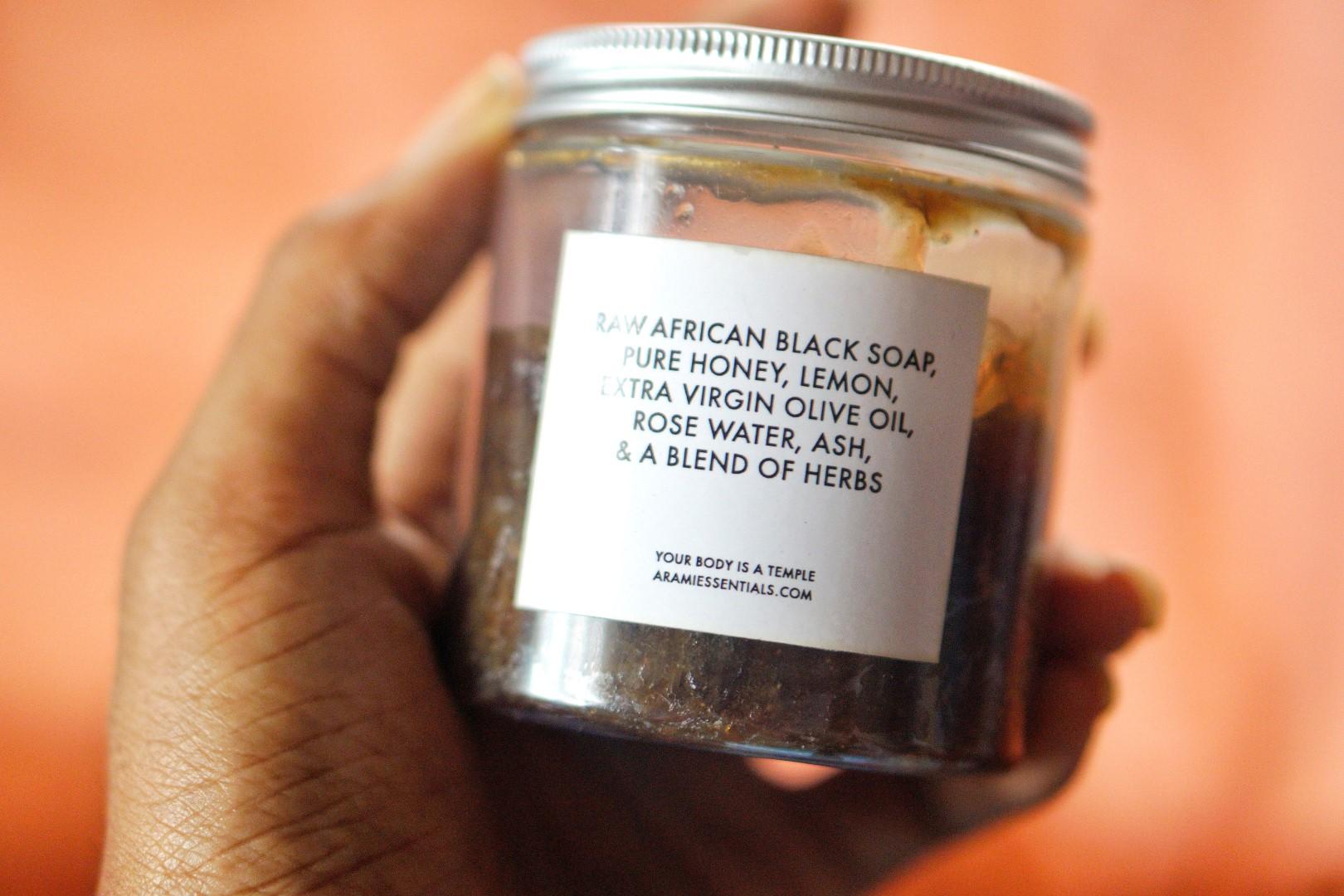 arami essentials black soap ingredients