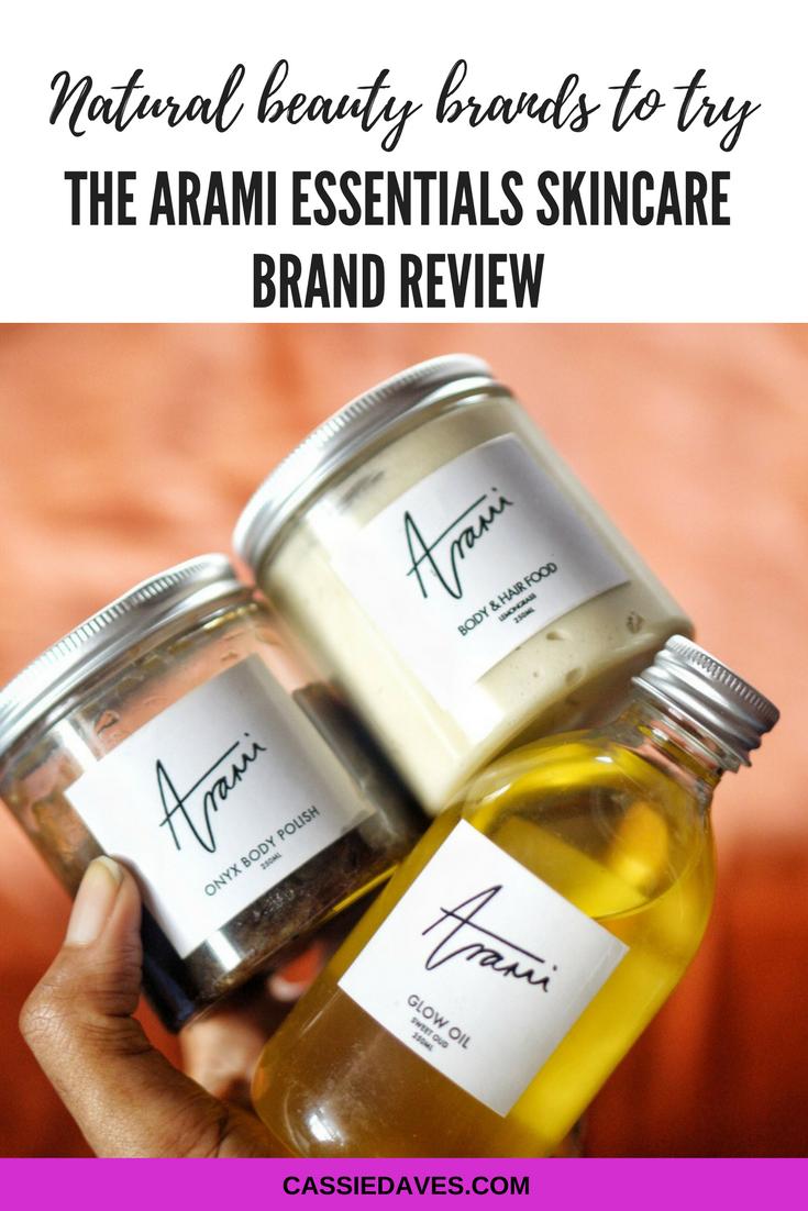 arami essentials review pinterest graphics