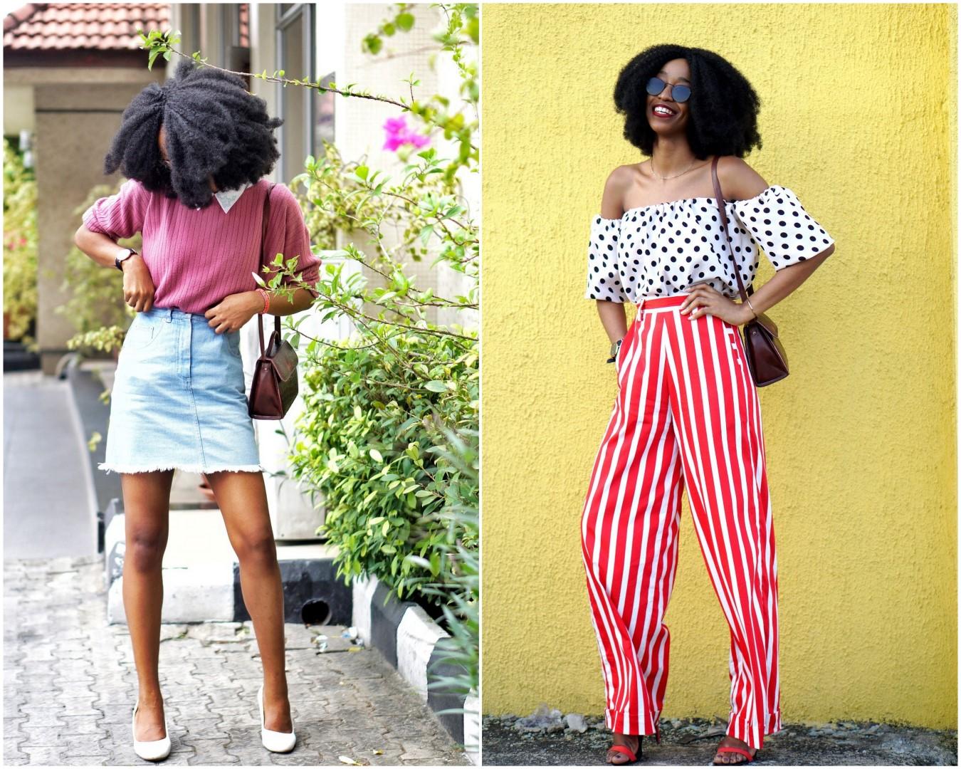 Nigerian blogger Cassie daves 2017 recap in style