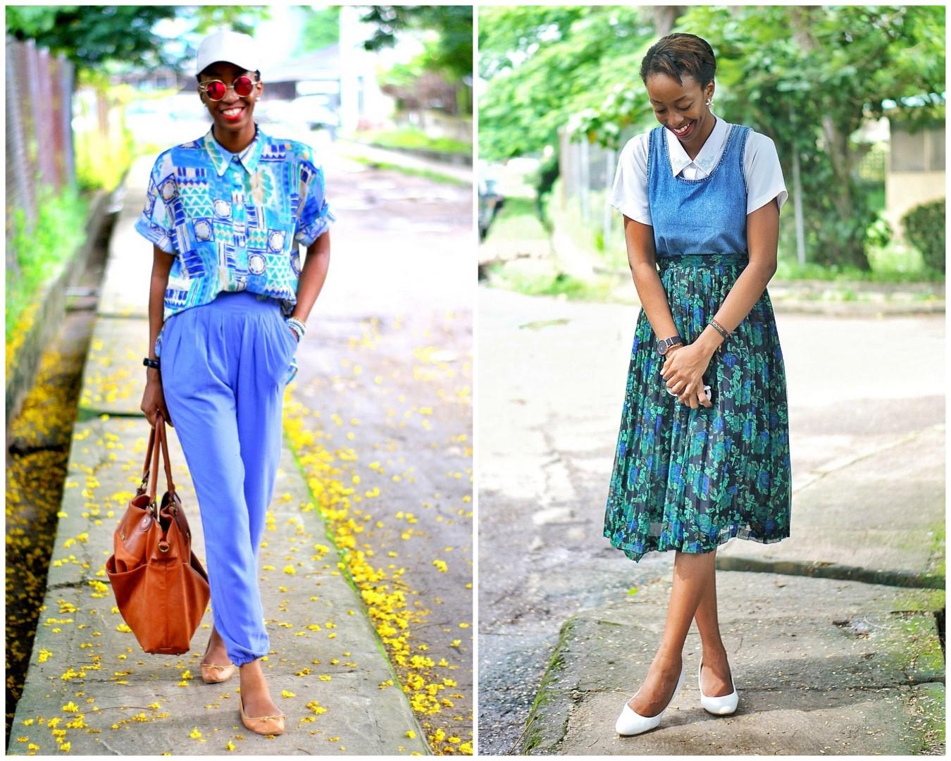 Nigerian style blogger Cassie daves 2017 style recap
