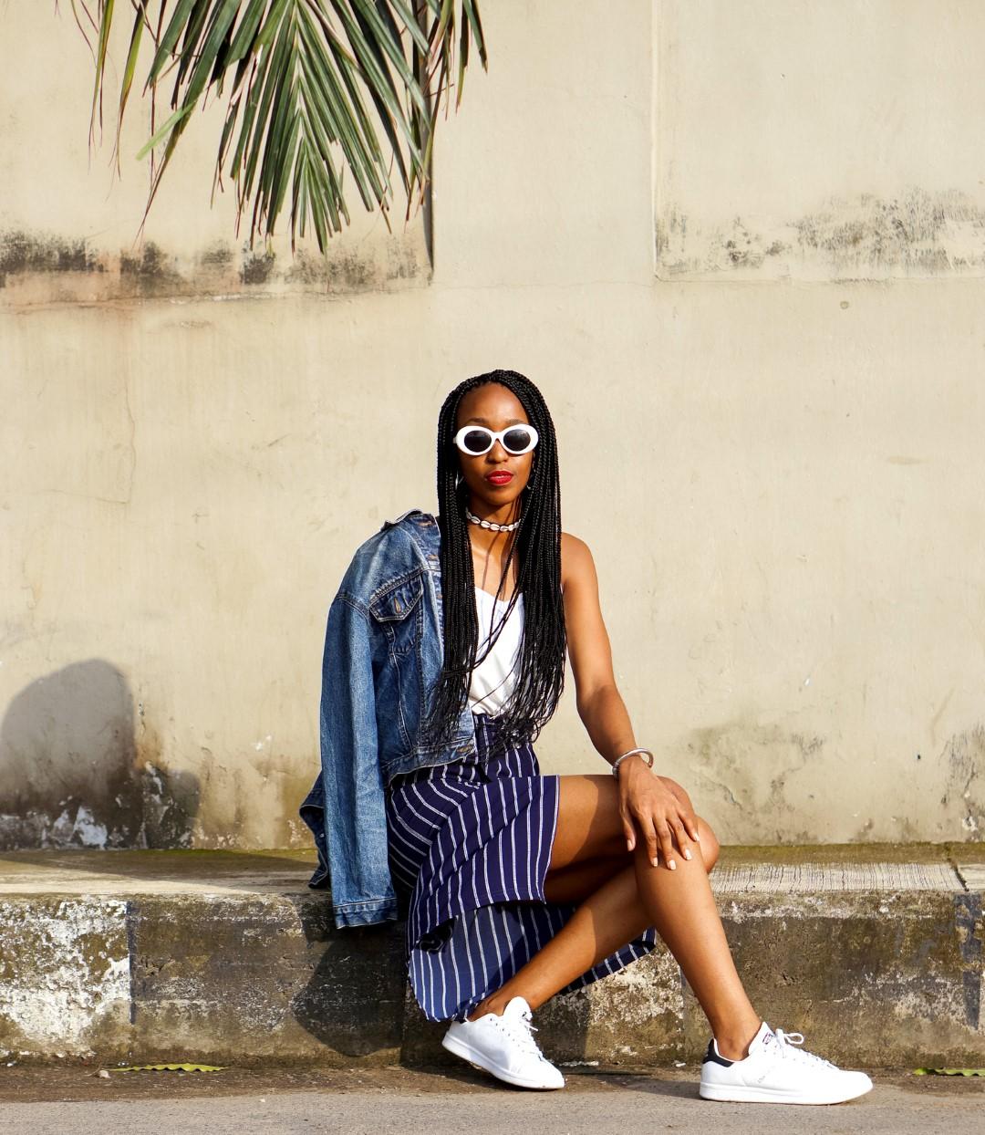Fashion blogger Cassie Daves