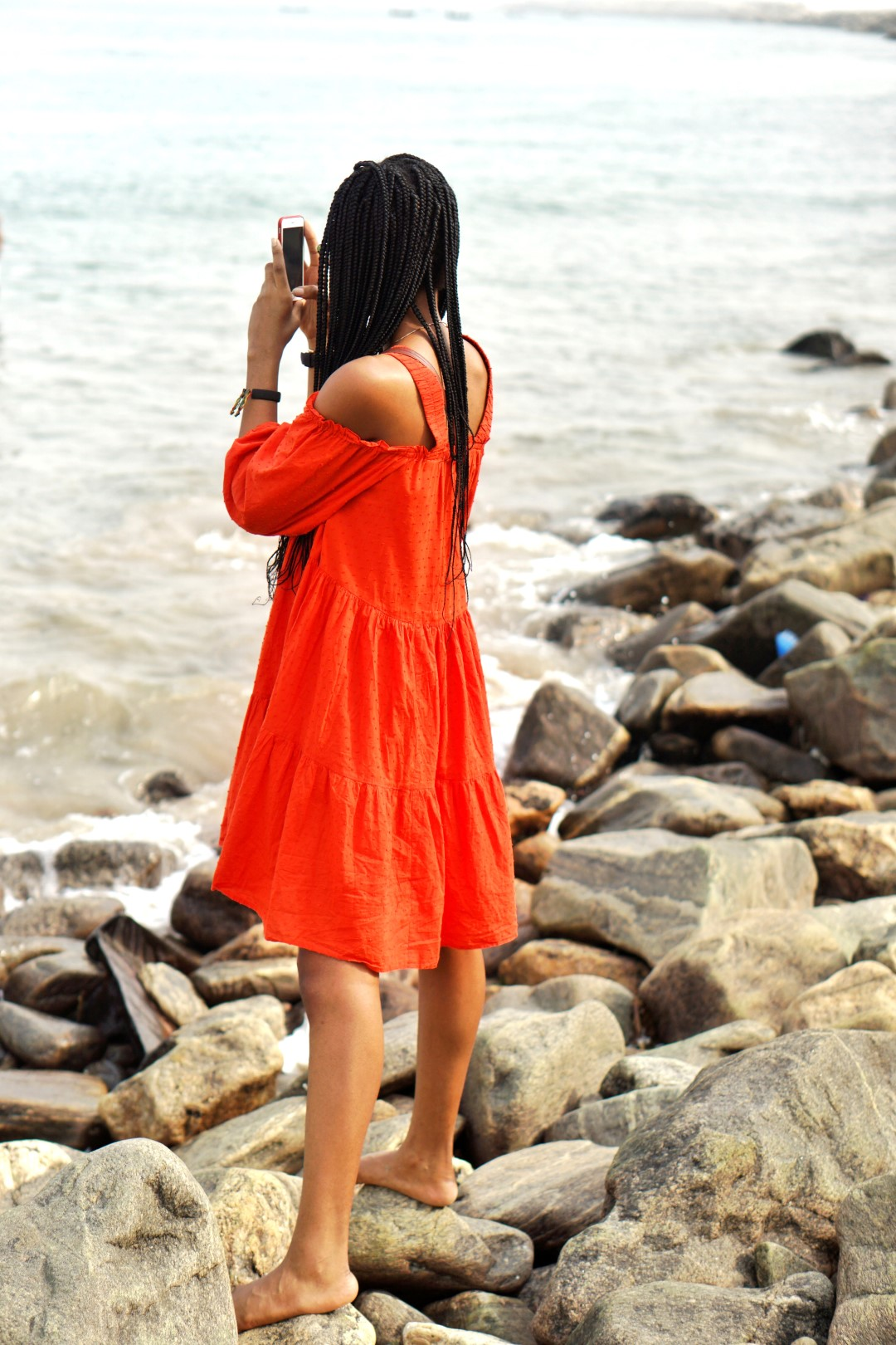 lifestyle blogger cassie daves at tarkwa bay