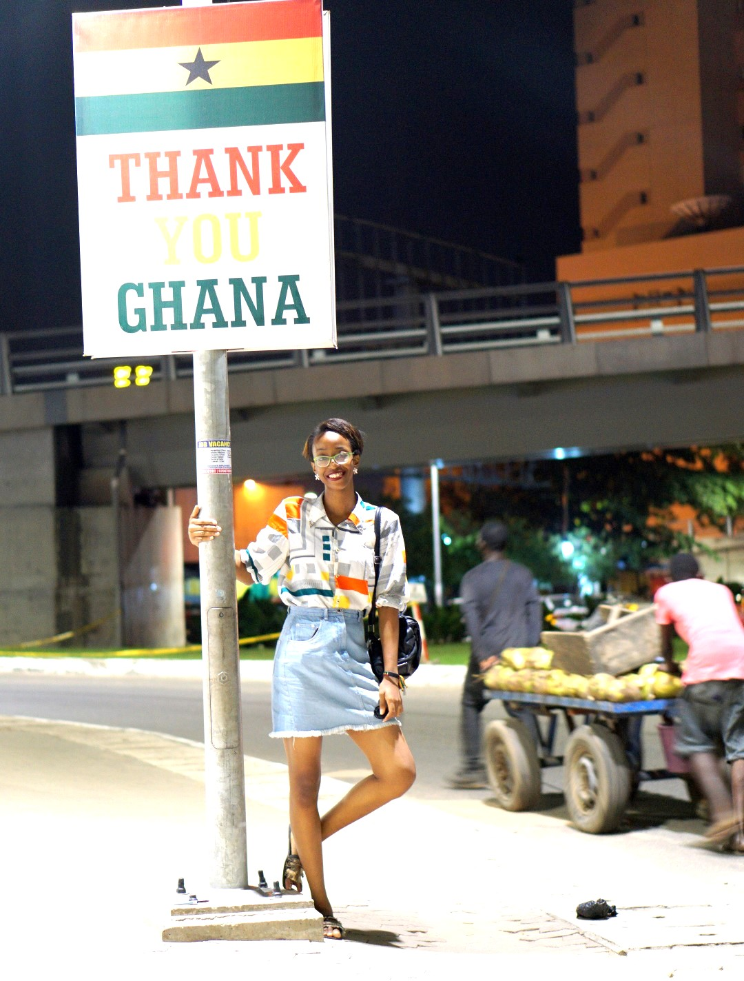 Cassie daves in Accra Ghana